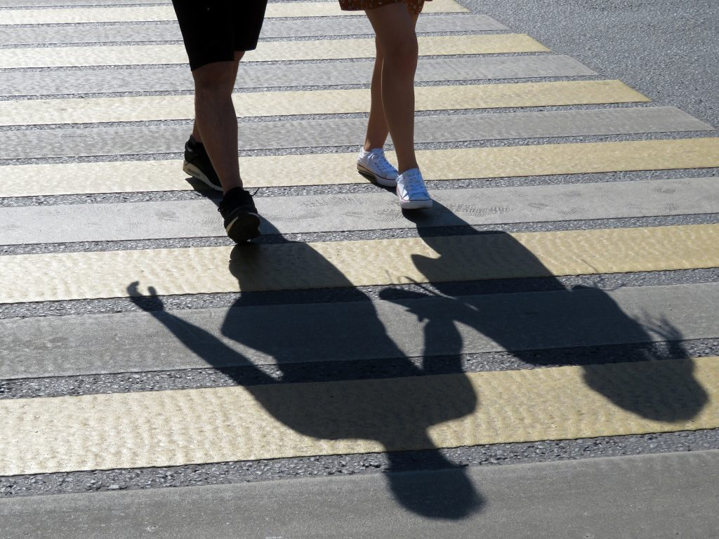If A Pedestrian Causes An Accident, Are They Liable For Damages?